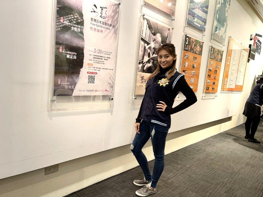 祈錦鈅出席「少年ㄟ,咱來去看電影」宣導活動。圖/固力狗娛樂提供
