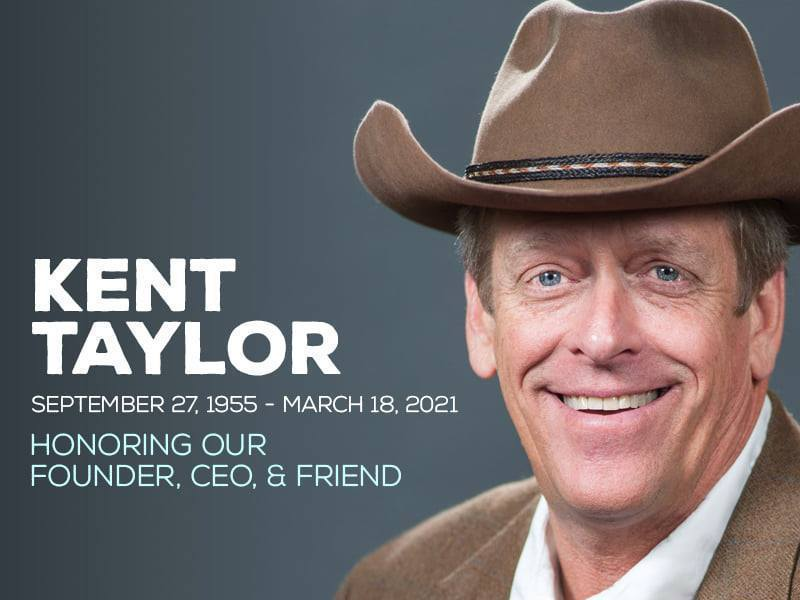 美國知名連鎖餐廳Texas Roadhouse執行長、創辦人泰勒(圖)因深受新冠病毒後遺症所苦而自殺。圖/取自Texas Roadhouse臉書