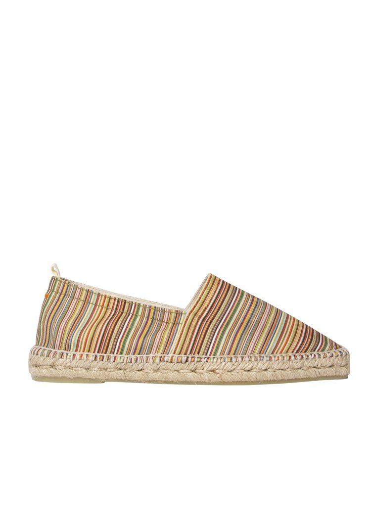 細彩條Pablo鞋款,7,800元。圖/Paul Smith提供