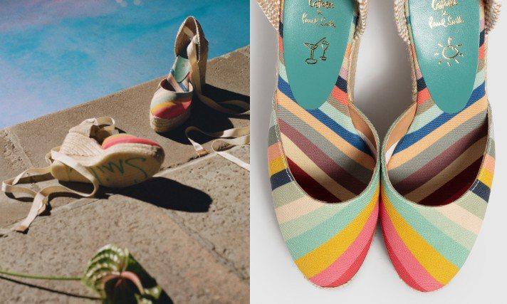 英國時裝設計師Paul Smith攜手西班牙手工鞋履品牌Castaner推出20...