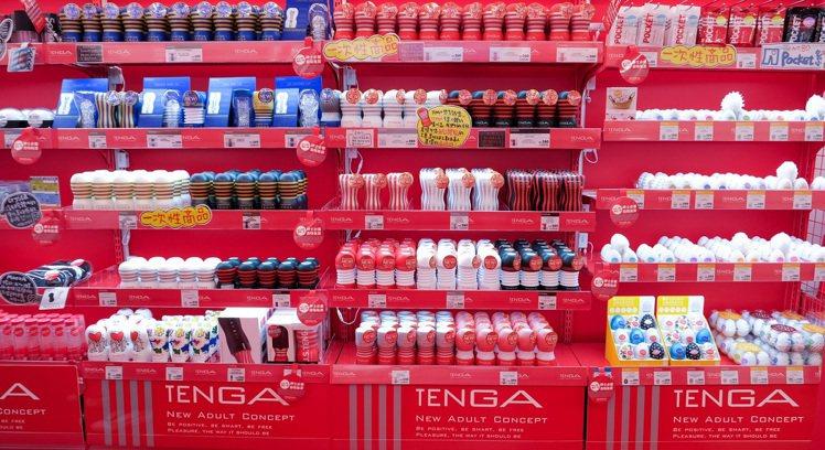 TENGA 西門店擁有最齊全的系列產品。圖/TENGA提供