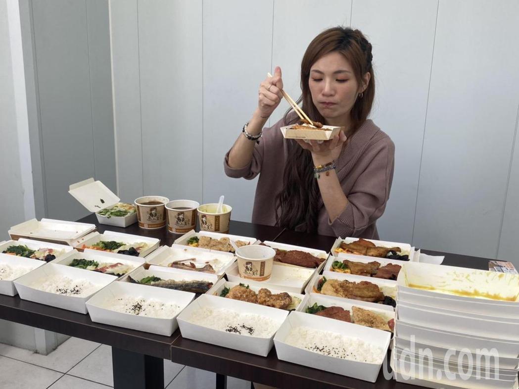 有膽固醇女王之稱的邵阿咩,是南部知名的Youtuber大胃王,這次她首次挑戰便當