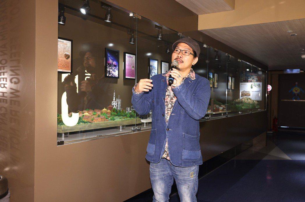方文山首次與電影院跨領域合作,覺得很有趣。記者王聰賢攝