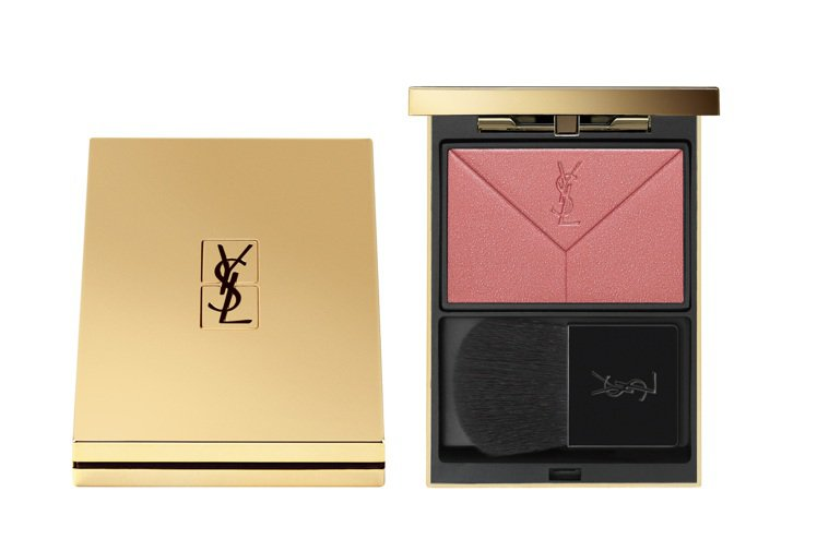YSL時尚宣言訂製情書腮紅#6粉嫩玫紅/1,900元。圖/YSL提供
