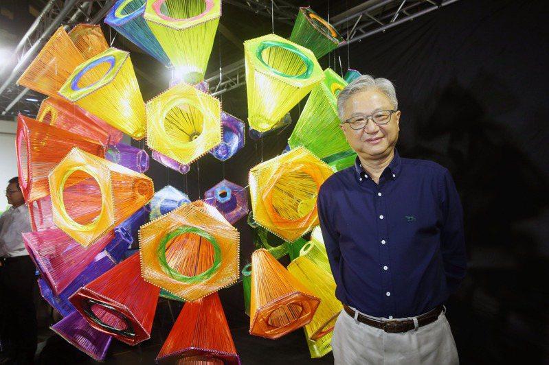 新纖董事長吳東昇表示,結盟越南油電集團,在紡織業算是全新的商業模式。記者邱德祥/攝影