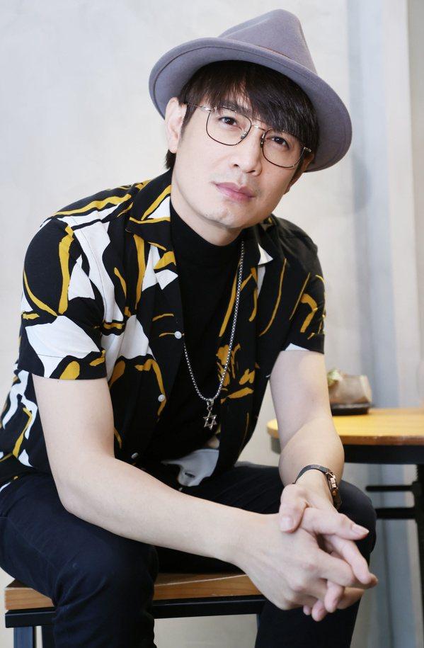 金曲客家歌王羅文裕。 圖/曾學仁 攝影