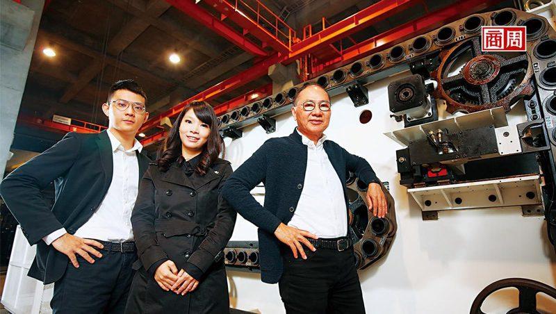 吉輔企業董事長劉興榮(右1) 。(攝影者.駱裕隆)