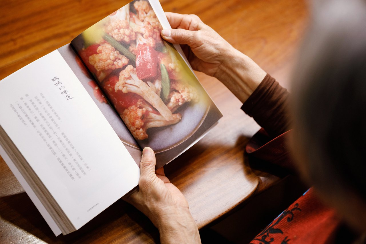 王培仁說她拍影片、出烹飪書最大目的,是想將記憶中媽媽的味道記錄下來。 圖/陳軍杉...