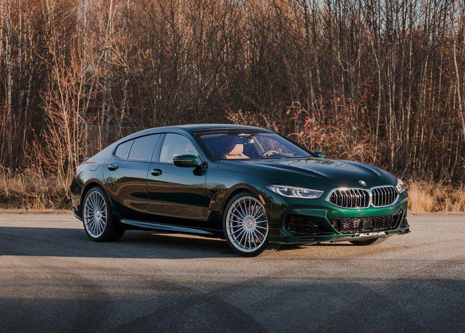 Alpina B8 Gran Coupe專屬車色Alpina Green Met...