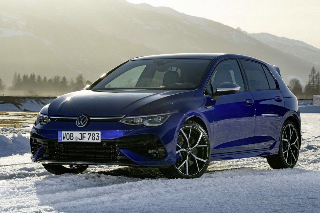全新Golf R擁有315hp/42.8kgm的動力。 圖/Volkswagen...