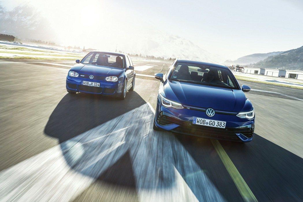 Volkswagen Golf R。 圖/Volkswagen提供