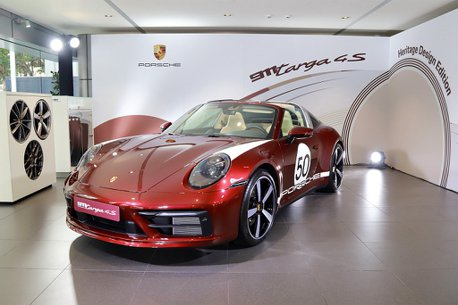千萬身價、台灣配額銷售一空!保時捷911 Targa 4S Heritage Design Edition抵台