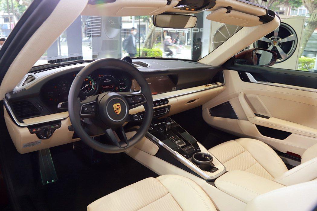 保時捷911 Targa 4S Heritage Design Edition除...