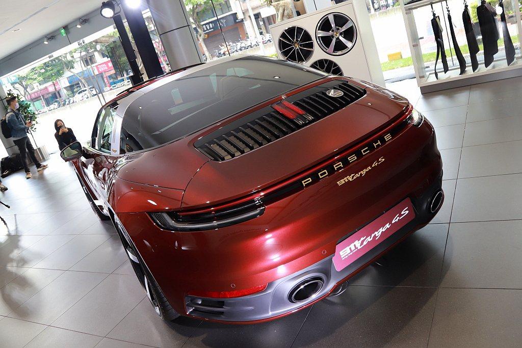 保時捷911 Targa 4S Heritage Design Edition全...