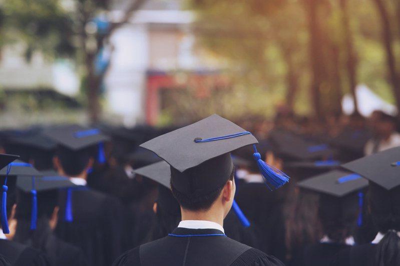 應屆畢業生情境示意圖。圖/Ingimage