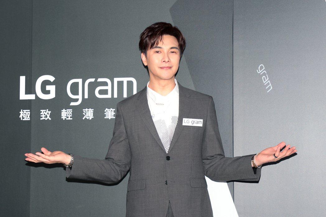 謝佳見演繹 LG gram「 輕贏隨型」快閃店暨新品發表會。記者蘇健忠/攝影