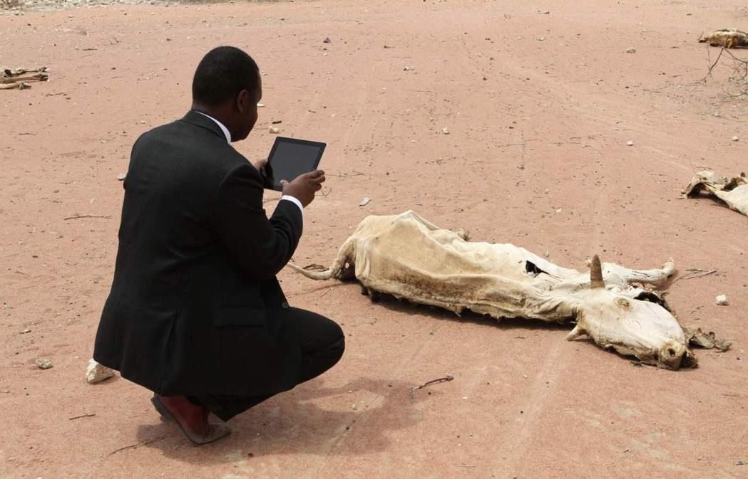 2011年東非大乾旱。 圖/路透社