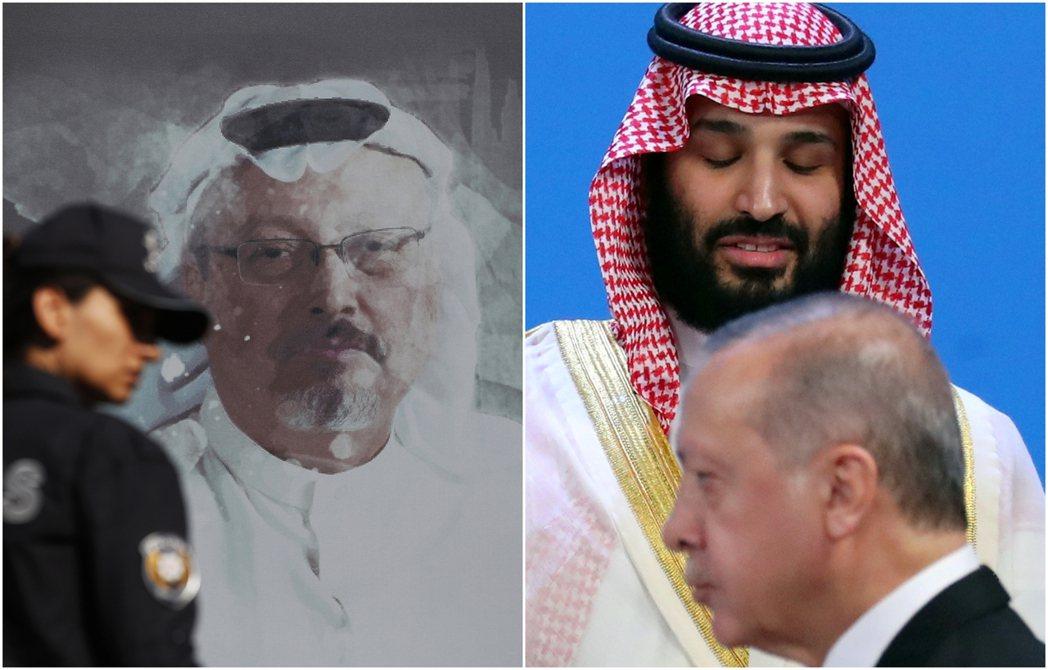哈紹吉(左)命案,確實讓沙烏地與土耳其的外交關係陷入「死仇等級」的歷史冰點——但...
