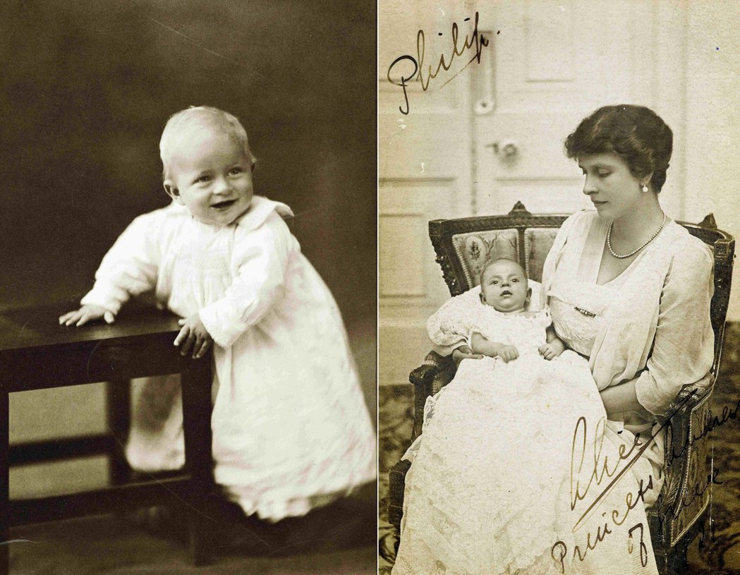 1921年在希臘出生的菲利浦,與他親緣淡泊日後又顛沛流離的母親愛麗絲公主。 圖/...