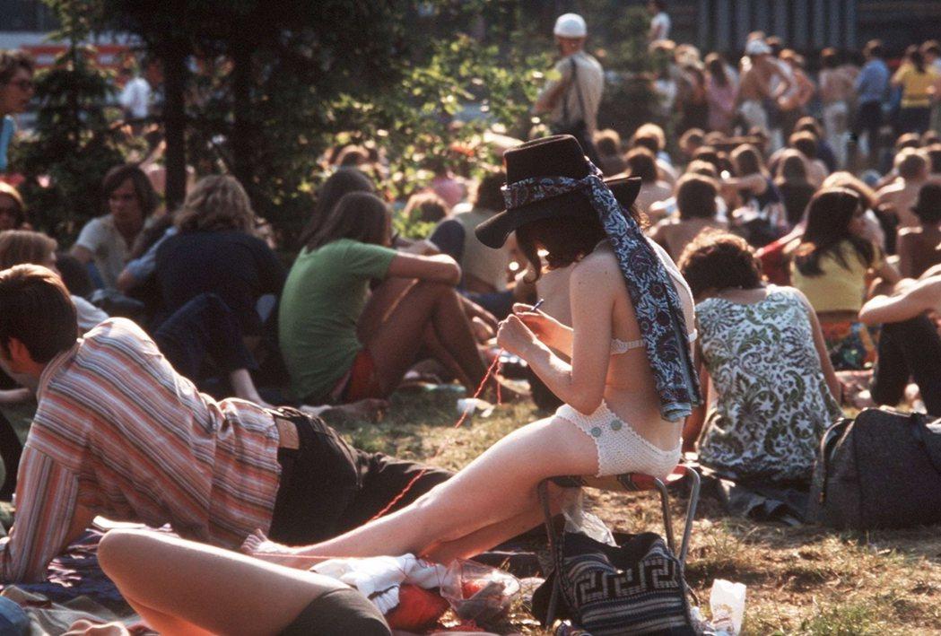 圖/1970年代漢堡的嬉皮