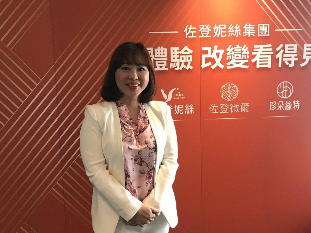 佐登-KY總經理陳佳琦。(記者/嚴雅芳攝影)