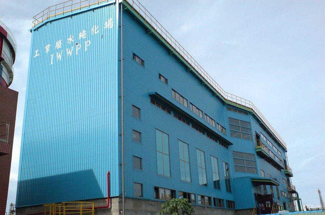 中鋼設置工業廢水純化場,可將生產製程使用後的水回收循環再利用。(中鋼/提供)