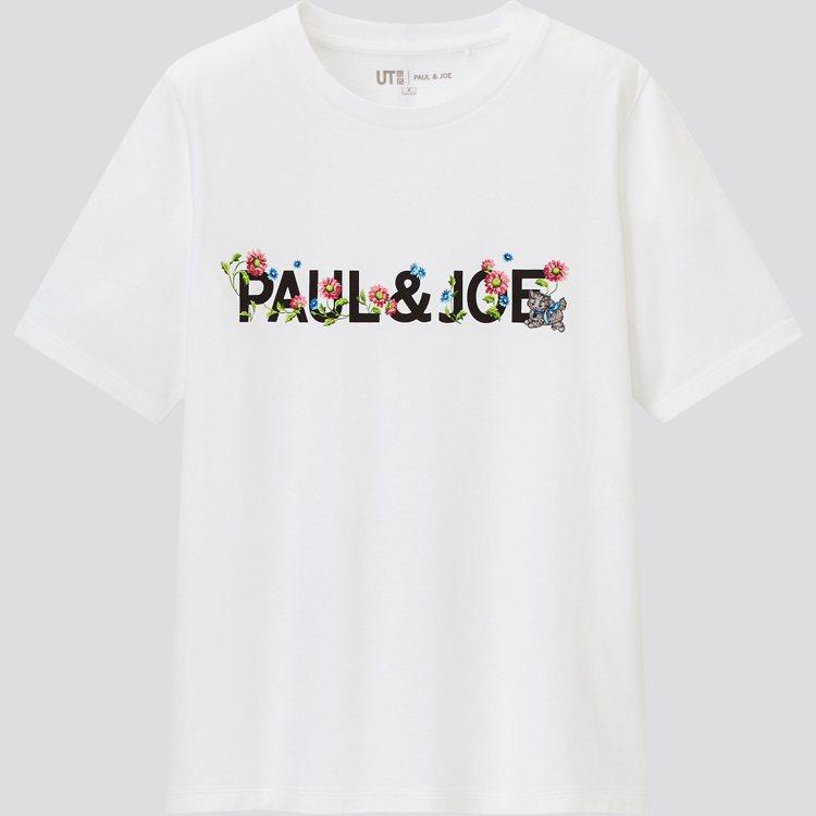 UNIQLO聯名Paul & Joe UT系列T恤590元。圖/UNIQ...