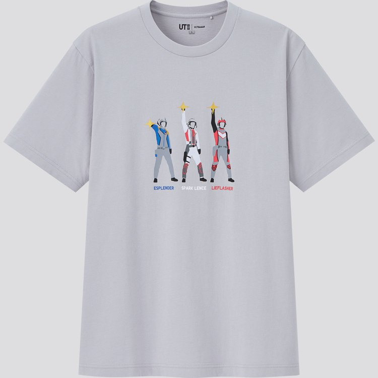 UNIQLO聯名超人力霸王UT系列男裝T恤590元。圖/UNIQLO提供