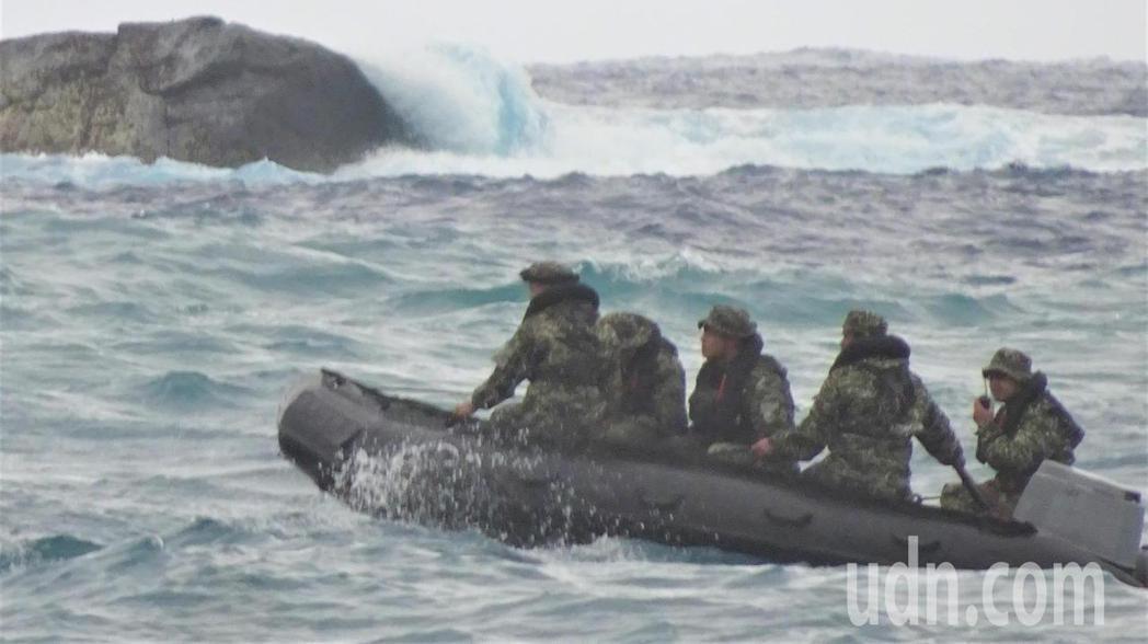 國軍示意圖。記者潘欣中/攝影