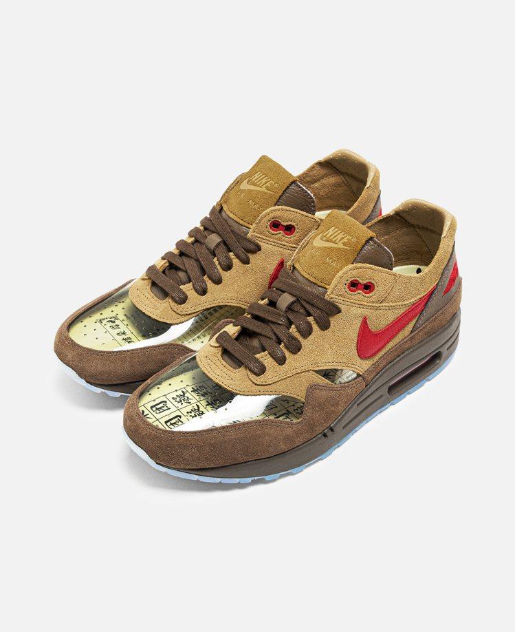 CLOT與Nike Air Max 1 「K.O.D.」CHA聯名鞋款4,900...