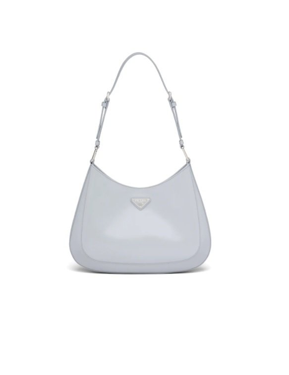 Prada Cleo拋光皮革掛肩袋,78,000元。圖/Prada提供