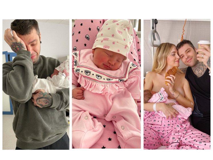 Chiara Ferragni和先生Fedez喜迎小女兒Vittoria誕生,母...