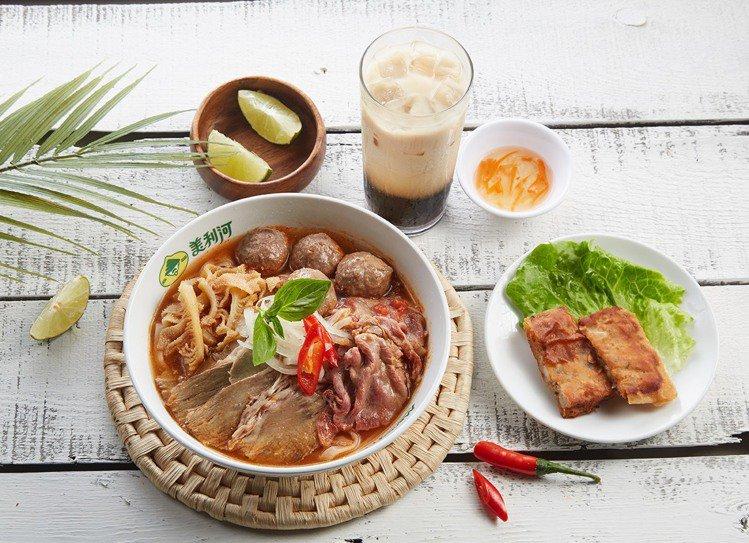 南港車站新櫃「美利河」,推出任一單人套餐享限量9折優惠。圖/環球購物中心提供