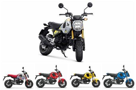 大改款MSX GROM售價出爐!Honda二輪公布2021年全車系售價