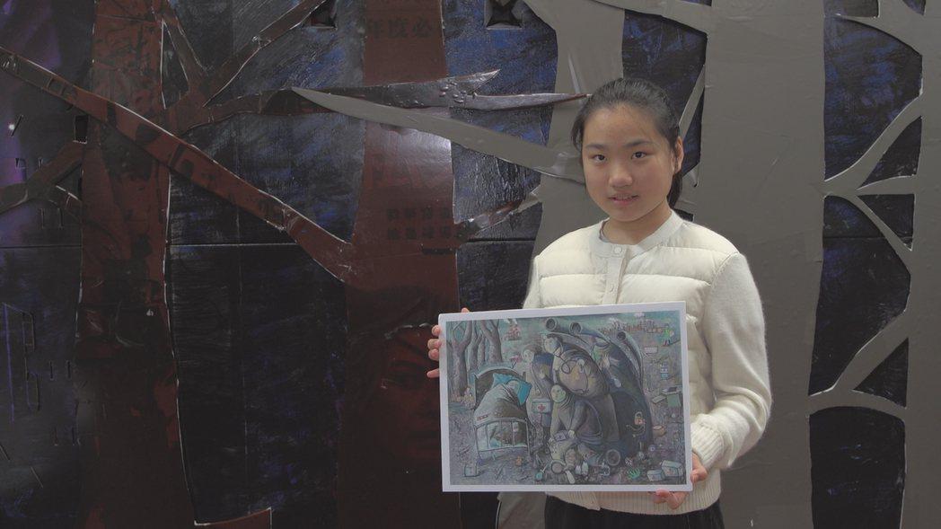 2021年全國大賽C組金獎:藍同學作品「人道救援車」。 圖/和泰汽車提供