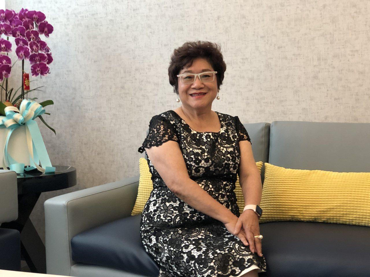 紀玉蓮說,當年求職、經營事業一路受許多貴人相助,她也樂意助人,希望形成善的循環。...