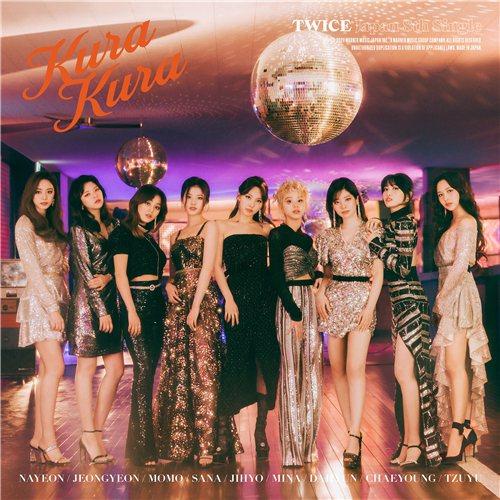 TWICE新單曲《Kura Kura》封面照曝光。圖/JYP娛樂