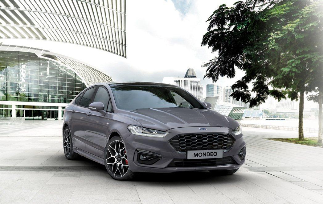 Ford Mondeo近年在歐洲的銷量逐年下滑。 摘自Ford