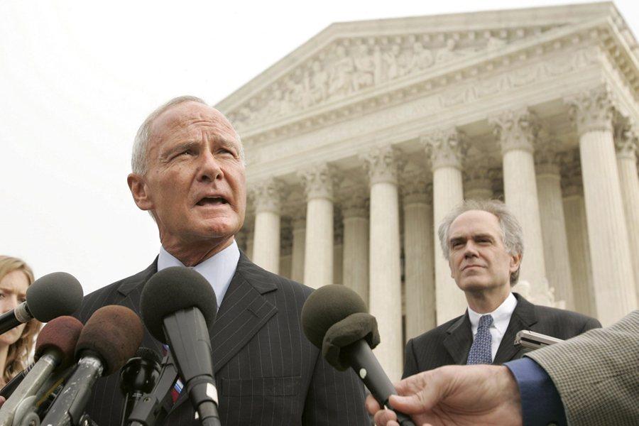 2006年著名的麻州訴環保局案,開啟了美國對溫室氣體管制的訴訟。 圖/美聯社