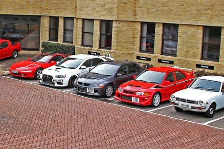 震撼經典性能車市場!英國三菱拍賣多輛Evolution原廠收藏車