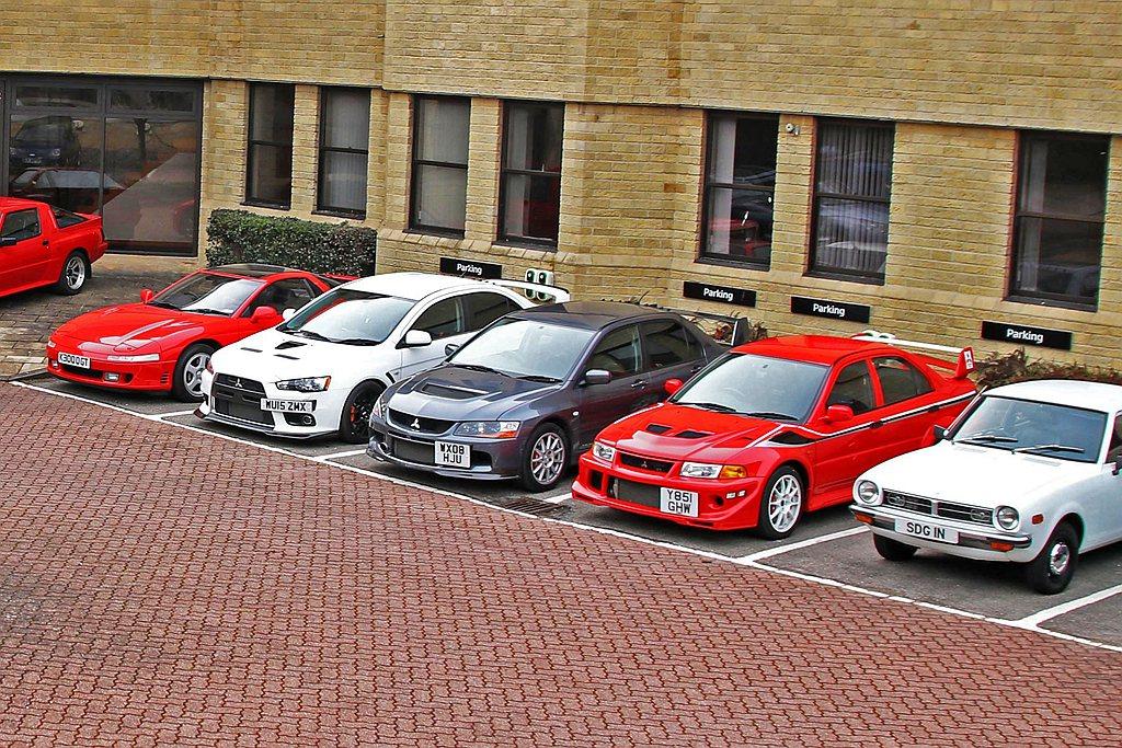 英國三菱汽車分公司日前釋出多款經典與性能車進行拍賣。 圖/Mitsubishi ...