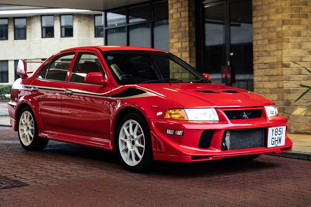 具有紀念價值的Mitsubishi Lancer Evolution VI To...
