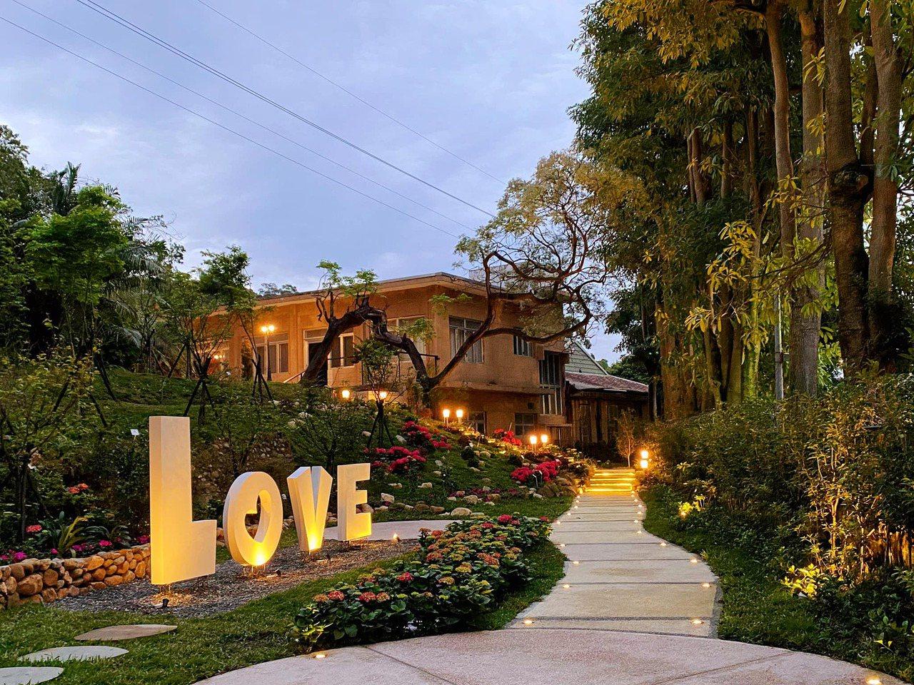 出密道,迎來的是秘境花園與孔二小姐故居。  圖/陳愷璜授權 提供