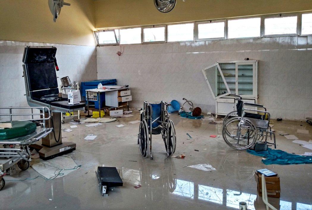 無國界醫生組織指出,他們在12月中旬至3月初訪問了當地106個醫療站點,其中70...