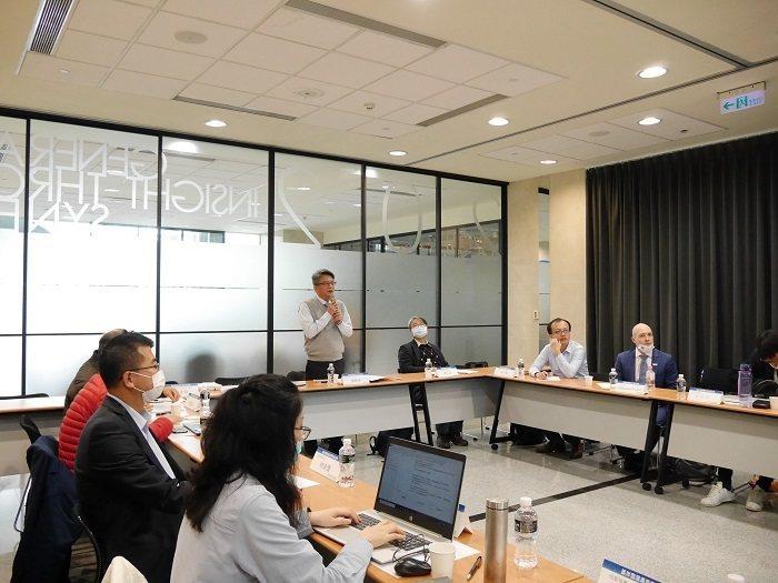 金屬中心陳維德副處長致詞歡迎國內外運維專家。 金屬工業研究發展中心/提供