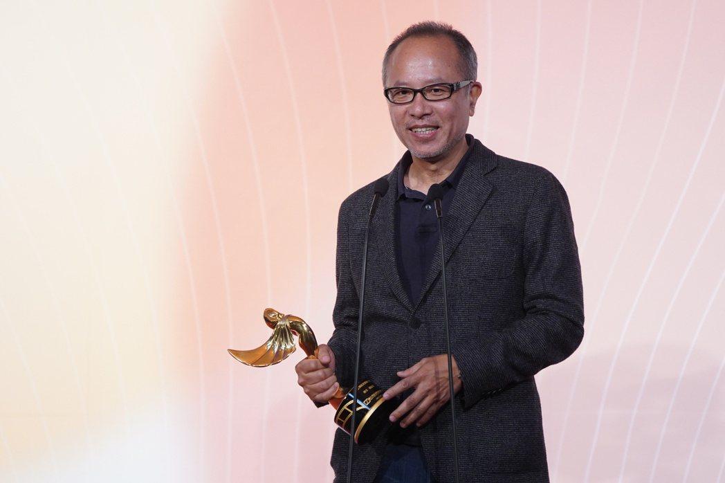 第一屆「年度傑出影視聽工作者頒獎典禮」26日在台北市中山堂舉行,以電影「陽光普照