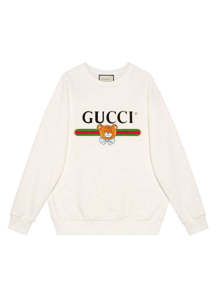 KAI × GUCCI聯名系列衛衣,38,000元。圖/GUCCI提供