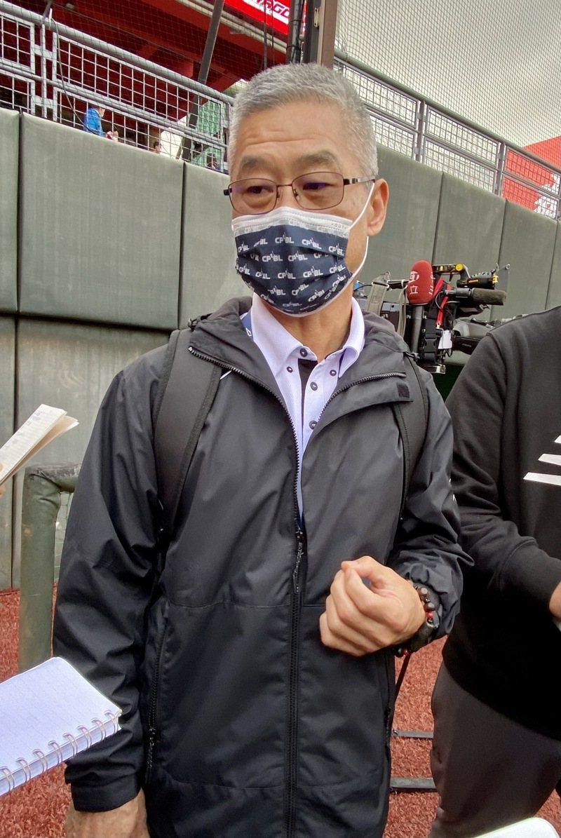 中職聯盟秘書長楊清瓏。記者陳宛晶/攝影