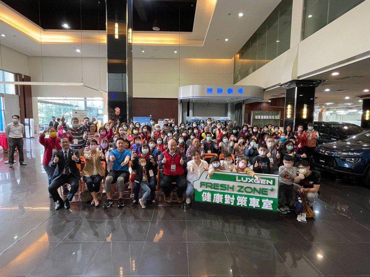 於納智捷桃園生活館舉辦的「健康對策」講座,吸引大批民眾參與。圖/陳韻如攝影