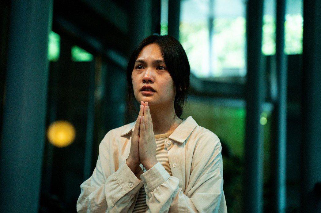 楊丞琳繼由「紅衣小女孩2」之後,再度挑戰恐怖片「靈語」。圖/甲上提供
